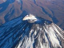 Volcano Misti near Arequipa, Peru, top view stock photos