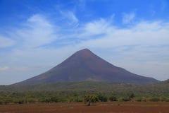 Volcano Momotombo Stock Image