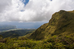Volcano of Montagne Pelee, Martinique Royalty Free Stock Photos