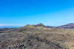 Volcano Montana Colorada in Lanzarote, Tinajo Royalty Free Stock Photography