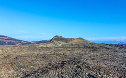 Volcano Montana Colorada in Lanzarote, Tinajo Royalty Free Stock Images