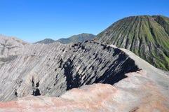 Volcano Mount Bromo no nascer do sol, East Java, Indonésia, Ásia Fotografia de Stock Royalty Free