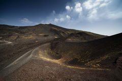 Volcano Mount Etna Royalty Free Stock Photography
