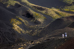 Volcano Mount Etna Royalty Free Stock Image