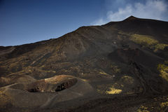 Volcano Mount Etna Stock Images