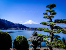 Volcano  Mount Fuji ,Japan Royalty Free Stock Photo