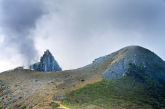 Volcano Mount Sinabung Royalty Free Stock Image