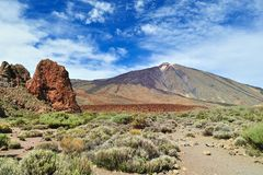 Volcano Teide Stock Images
