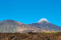Volcano Mount Teide Stock Image