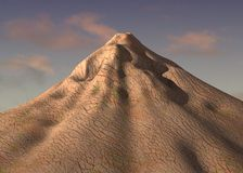 Volcano mountain Royalty Free Stock Images