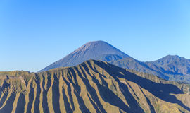 Volcano mountain, Java, Indonesia Royalty Free Stock Images