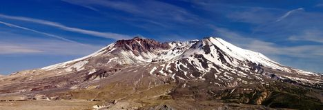 volcano mountain St. Helens Royalty Free Stock Photo