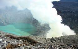 Volcano Mt IJEN Fotos de archivo libres de regalías
