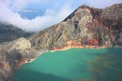 Volcano Mt IJEN Fotos de archivo