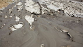 Volcano Mud Stream stock footage