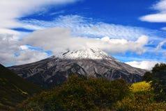 Volcano Mutnovsky Royalty-vrije Stock Afbeelding