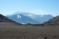 Volcano Mutnovsky Stock Image