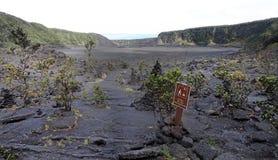 Volcano National Park, Hawaii Stock Image