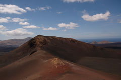 Volcano National Park Timanfaya Stockfotografie