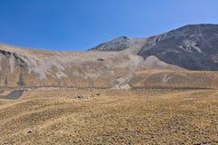 Volcano Nevada de Toluca, México imagens de stock