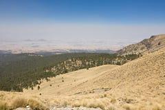 Volcano Nevada de Toluca Mexico Arkivbild