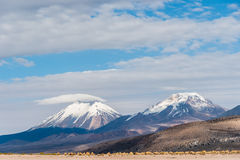 Volcano Nevado Sajama Image libre de droits