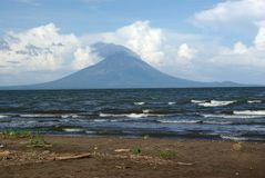 Volcano in Nicaragua Stock Photo