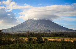 Volcano on the Ometepe Island, Nicaragua Royalty Free Stock Images