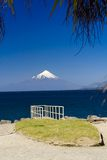 The volcano Osorno, Royalty Free Stock Images