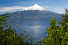The volcano Osorno, Chile Stock Image