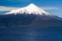The volcano Osorno, Chile Royalty Free Stock Photography