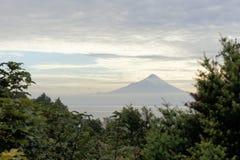 Volcano Osorno, lake Llanquihue, Patagonia, Chile Royalty Free Stock Photography