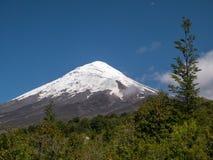 Volcano Osorno, o Chile fotos de stock