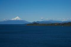 Volcano Osorno - Puerto Varas - Chile Arkivfoton