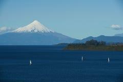 Volcano Osorno - Puerto Varas - Chile Arkivbilder