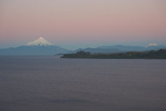 Volcano Osorno - Puerto Varas - Chile Royaltyfri Bild