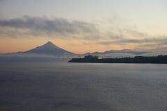 Volcano Osorno - Puerto Varas - Chile Royaltyfria Bilder