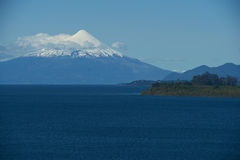 Volcano Osorno - Puerto Varas - Chile Royalty Free Stock Photo