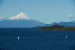 Volcano Osorno - Puerto Varas - Chile Stock Images
