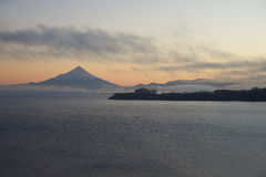 Volcano Osorno - Puerto Varas - Chile Royalty Free Stock Images