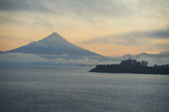 Volcano Osorno - Puerto Varas - Chile Stock Photo
