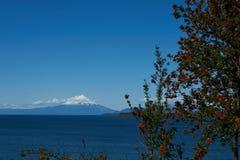 Volcano Osorno - Puerto Varas - il Cile Fotografia Stock Libera da Diritti
