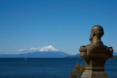 Volcano Osorno - Puerto Varas - le Chili Images libres de droits