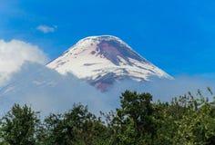 Volcano Osorno summit Stock Images