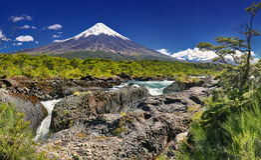 Volcano Osorno & x28; Chile& x29; Royaltyfri Foto