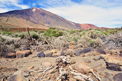 Volcano Overview Stock Photography