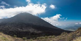 Volcano of Pacaya and Blue Sky. Guatemala Royalty Free Stock Image