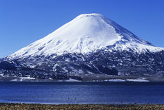 Volcano in Peru Royalty Free Stock Image