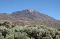 Volcano Pico de Teide, Tenerife Spain Royalty Free Stock Images