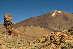 Volcano Pico del Teide Royalty Free Stock Images
